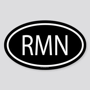RMN Oval Sticker