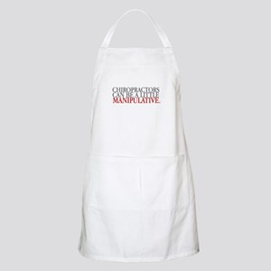 Chiropractors can be a little BBQ Apron