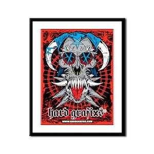 Hard Grafixs Worship & Destroy Frame Limited Print