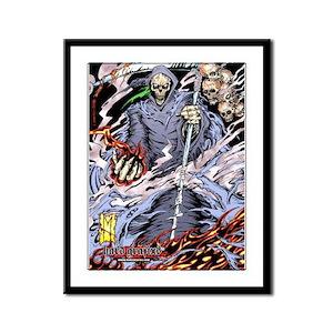 Hard Grafixs Ultra Armageddon Framed Limited Print