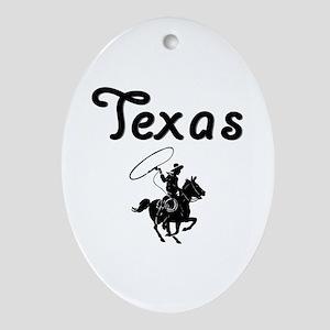 Texas Keepsake (Oval)