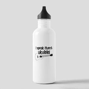 Funny ukulele Water Bottle