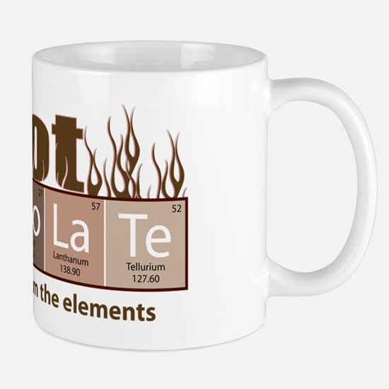 Chocolate periodic table gifts merchandise chocolate periodic hot chocolate mug urtaz Choice Image