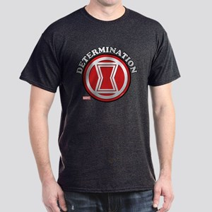 Black Widow Determination Dark T-Shirt