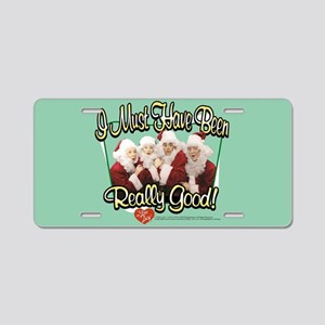 I Love Lucy: Really Good Aluminum License Plate