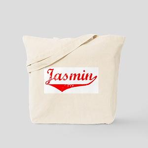 Jasmin Vintage (Red) Tote Bag