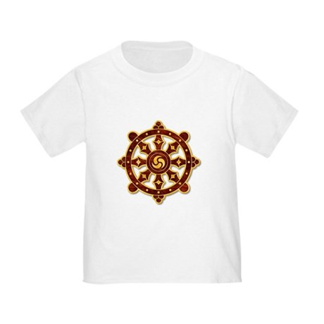 Dharma Wheel 2 Toddler T-Shirt