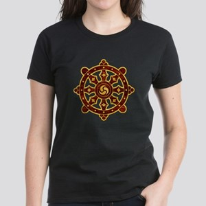 Dharma Wheel 2 Women's Dark T-Shirt