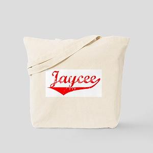 Jaycee Vintage (Red) Tote Bag