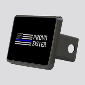 Police: Proud Sister Rectangular Hitch Cover