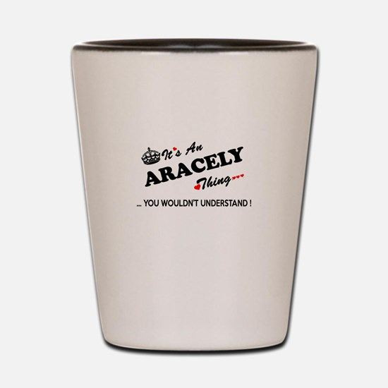 Funny Aracely Shot Glass
