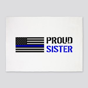 Police: Proud Sister 5'x7'Area Rug