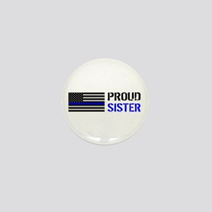 Police: Proud Sister Mini Button