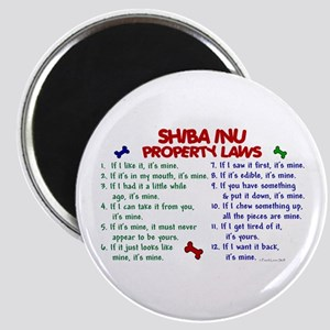 Shiba Inu Property Laws 2 Magnet