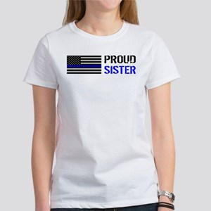 Police: Proud Sister Women's Classic White T-Shirt
