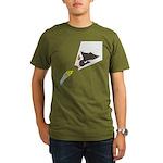 Eagle Fishing Organic Men's T-Shirt (dark)