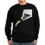 Eagle Fishing Sweatshirt (dark)