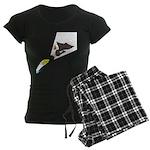 Eagle Fishing Women's Dark Pajamas
