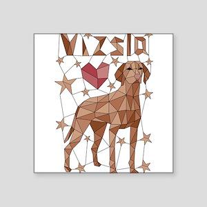 Geometric Vizsla Sticker