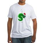 Christmas Eel Fitted T-Shirt