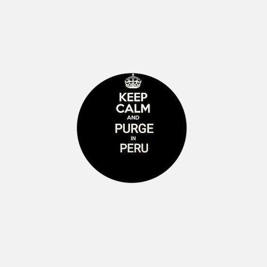 Black ayahuasca watchuma medicine peru Mini Button