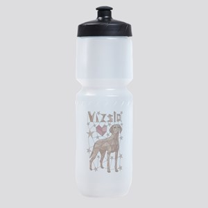Geometric Vizsla Sports Bottle