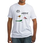 Deep Fish Fitted T-Shirt