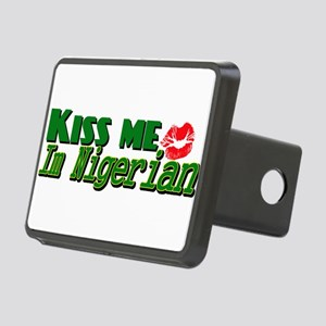 Kiss me im nigerian Rectangular Hitch Cover