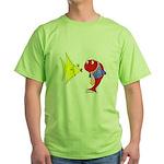 Clash Fish Green T-Shirt