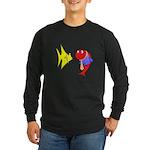 Clash Fish Long Sleeve Dark T-Shirt