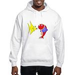 Clash Fish Hooded Sweatshirt