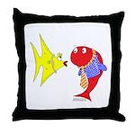 Clash Fish Throw Pillow
