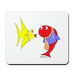 Clash Fish Mousepad