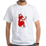 Fox Tail White T-Shirt