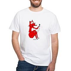Fox Tail White T-Shirt