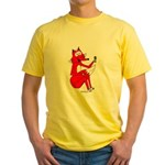 Fox Tail Yellow T-Shirt