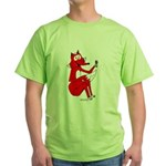 Fox Tail Green T-Shirt