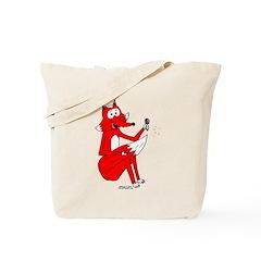 Fox Tail Tote Bag