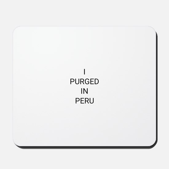 Ayahuasca T-Shirt Mousepad