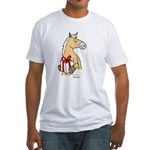 Gift Horse Fitted T-Shirt