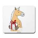 Gift Horse Mousepad