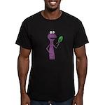 Kale Monster Men's Fitted T-Shirt (dark)