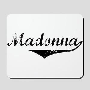 Madonna Vintage (Black) Mousepad
