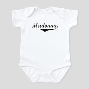 Madonna Vintage (Black) Infant Bodysuit
