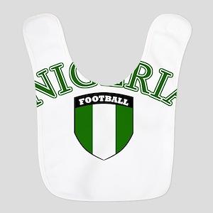 Nigerian football Polyester Baby Bib