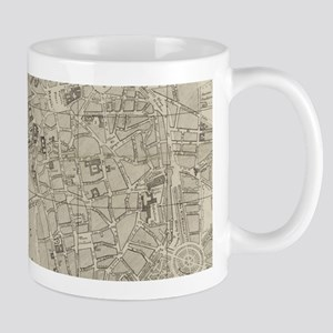 Vintage Map of Toulouse France (1844) Mugs