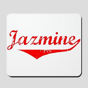 Jazmine Vintage (Red) Mousepad