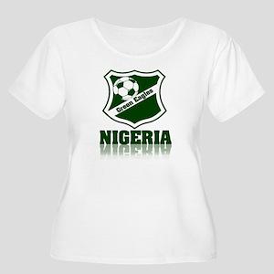 Nigerian Green Eagles Plus Size T-Shirt