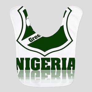 Nigerian Green Eagles Polyester Baby Bib
