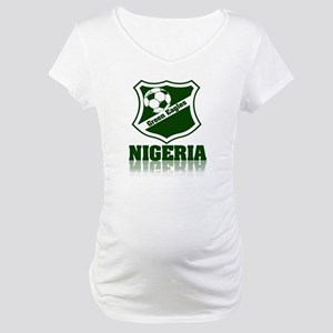 Nigerian Green Eagles Maternity T-Shirt